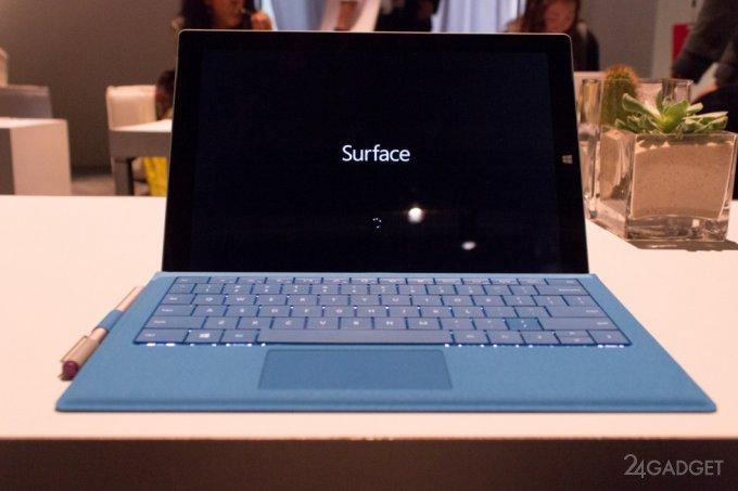 Surface Pro 3 - новая 12-дюймовая версия windows-планшета (16 фото + видео)