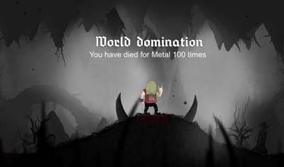 Die For Metal Again 1.0  Платформер про металлиста