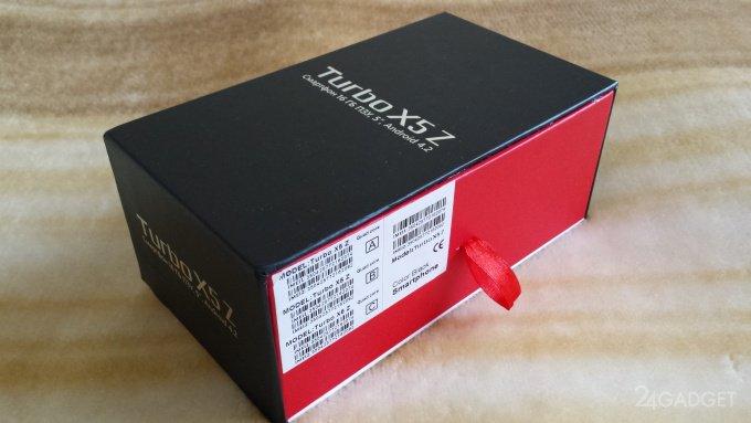 Turbo X5 Z - отличный и недорогой смартфон