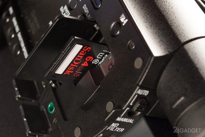 SONY FDR-AX100 - ретро внешность и современная начинка 1402462884_24gadget-sony-fdr-ax100-carddoor-1500x1000