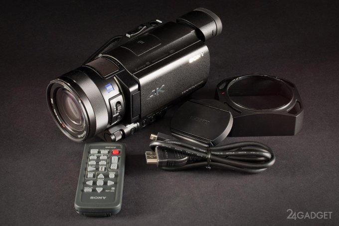 SONY FDR-AX100 - ретро внешность и современная начинка 1402462911_24gadget-sony-fdr-ax100-kit1-1500x1000-main