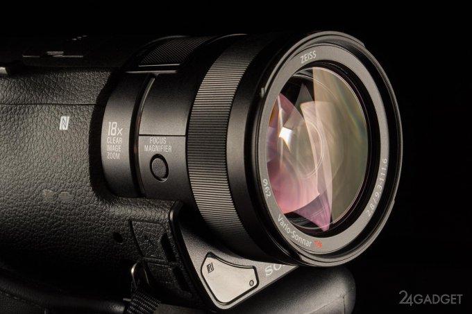 SONY FDR-AX100 - ретро внешность и современная начинка 1402462936_24gadget-sony-fdr-ax100-lens2-1500x1000