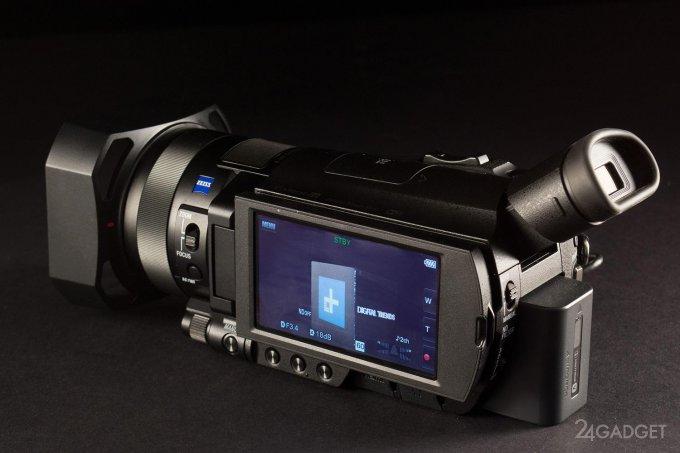 SONY FDR-AX100 - ретро внешность и современная начинка 1402462960_24gadget-sony-fdr-ax100-lcdflush-1500x1000
