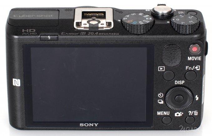 Cyber-shot HX60 - новый компакт с 30-кратным зумом и WiFi