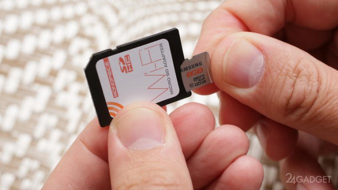 Простой и дешевый WiFi-адаптер для старых камер 1403243330_monoprice-wifi-microsd-adapter-product-photos09