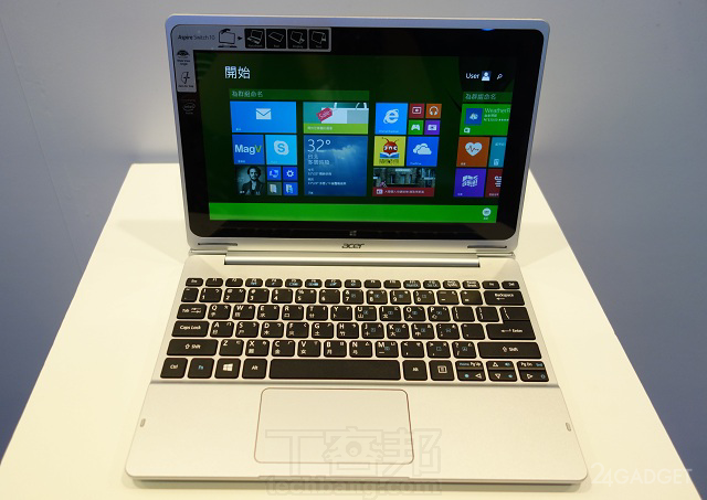 Стартовали продажи трансформера Acer Aspire Switch 10 (11 фото)