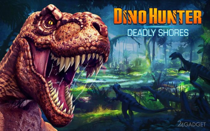 Dino Hunter: Deadly Shores 1.0.0 Охота на динозавров