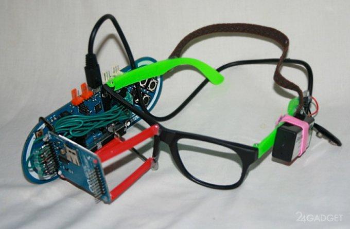 13-летний подросток создал собственные умные очки (2 фото + видео)