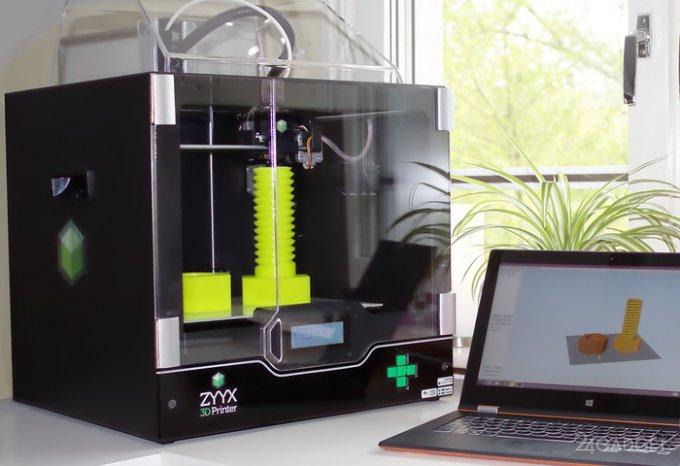 3D-принтер, который не портит воздух (видео)