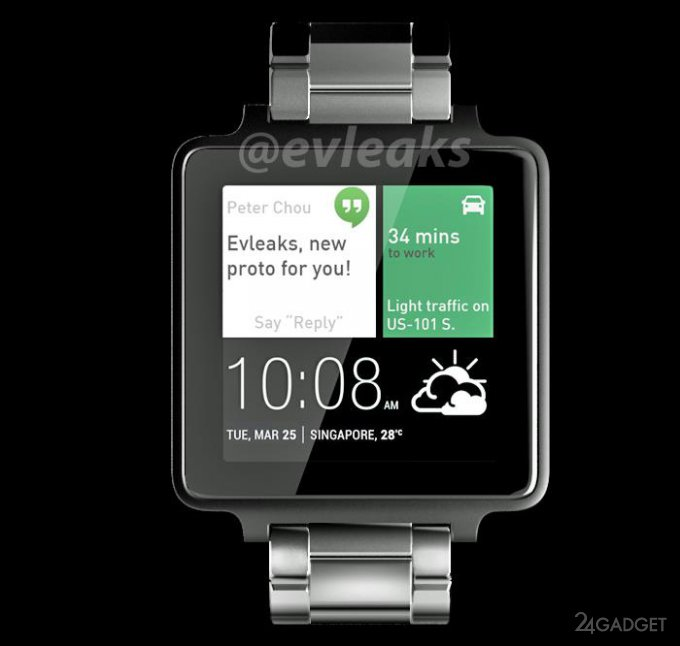 Умные часы HTC засветились в официальном видео (3 фото + видео)