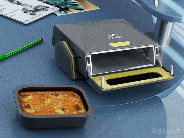 Портативная микроволновая печь (5 фото)