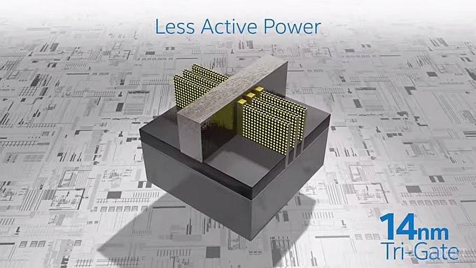 Intel начала производство 14 нм процессоров (видео)