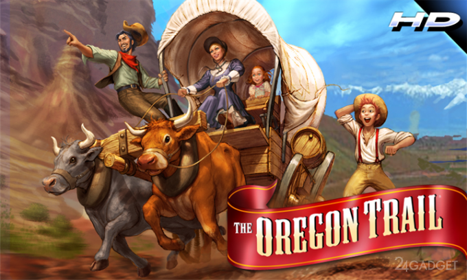 The Oregon Trail HD 1.0 Смесь квеста, адвенчура и аркады