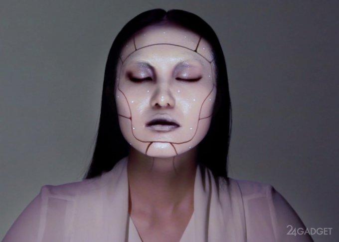 Проекционная технология, отслеживающая движения в реальном времени (2 видео)