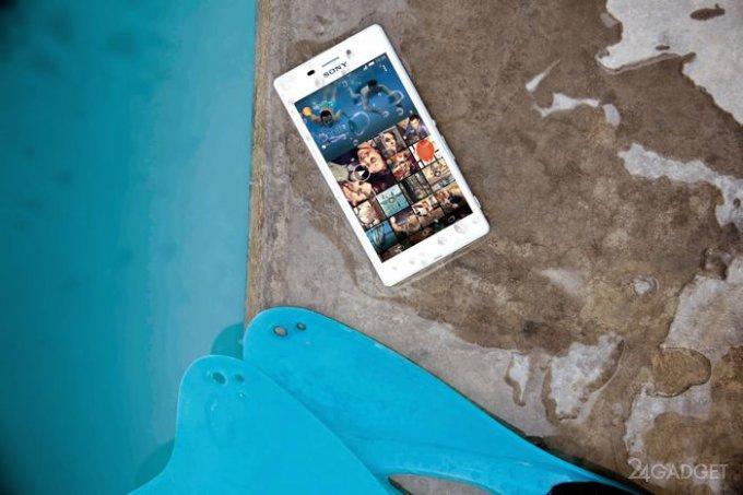 Sony Xperia M2 Aqua - смартфон для водяных и русалок (видео)