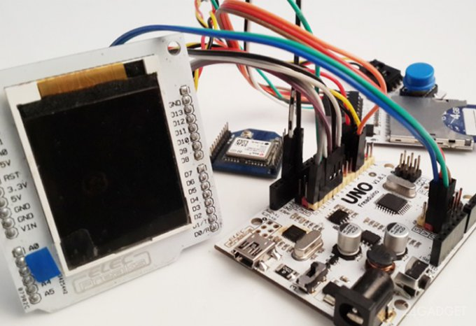 Самодельный GPS-навигатор на базе Arduino (3 фото)