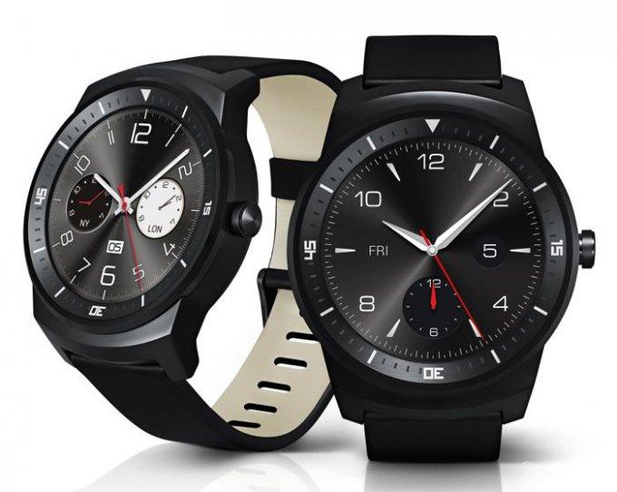 Характеристики и фото круглых часов LG G Watch R (6 фото)