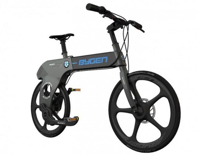 Складной велосипед без цепи (3 фото + видео)