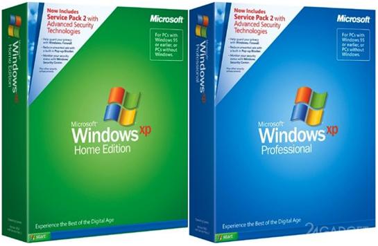 Windows XP получила неофициальное обновление SP4