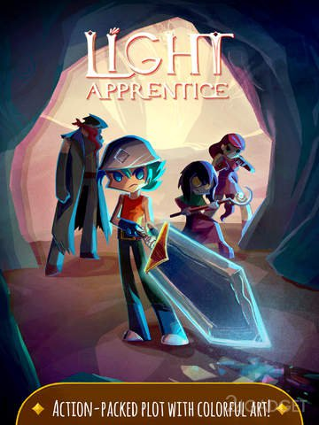 Light Apprentice 1.0 РПГ в стиле комикса