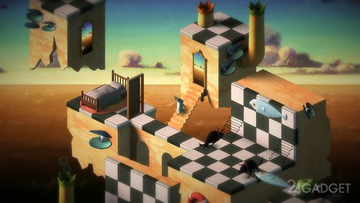Back to Bed 1.0.3 Головоломка, похожая на Monument Valley