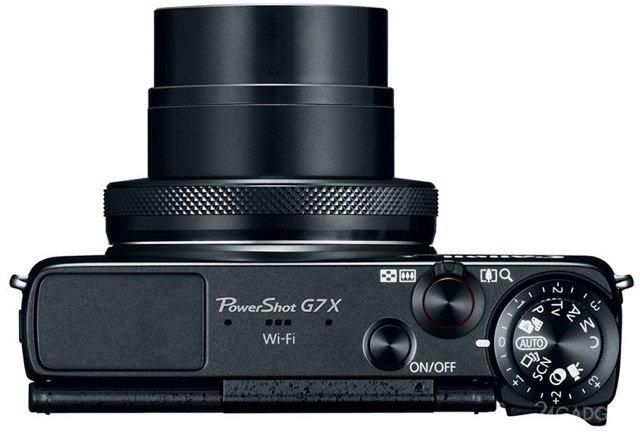 Canon PowerShot G7X - компакт с дюймовой матрицей (4 фото)