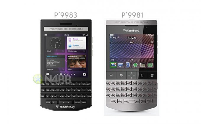 BlackBerry P9983 - смартфон не для всех (3 фото)