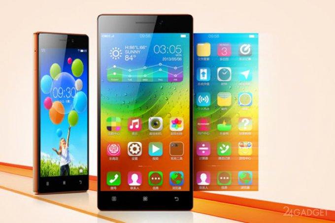 Lenovo представила обновление линейки смартфонов Vibe (2 фото)