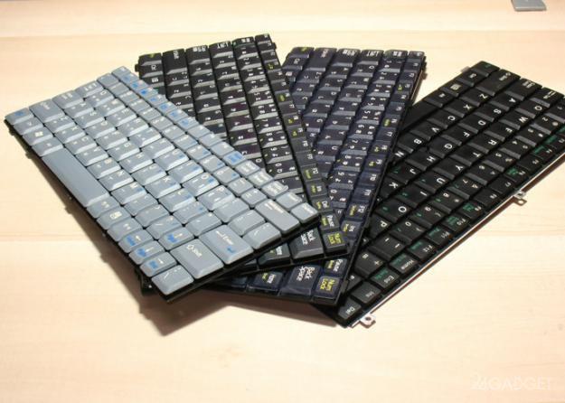 Клавиатуры вчера и сегодня (13 фото)