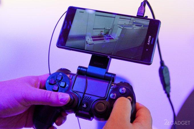 Функция PS4 Remote Play стала доступна для серии Sony Xperia Z3 (2 видео)