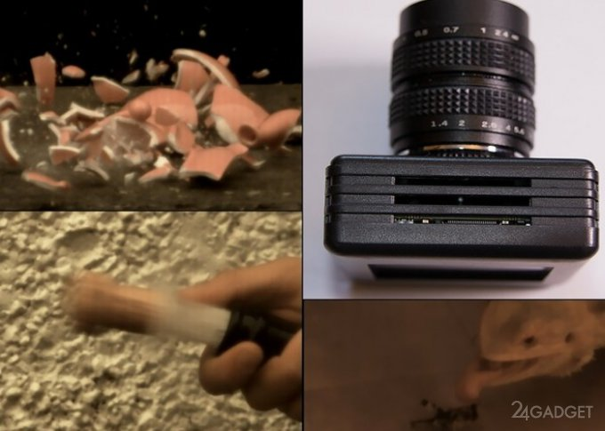Доступная камера со скоростью съёмки до 18500 кадров в секунду (3 фото + видео)