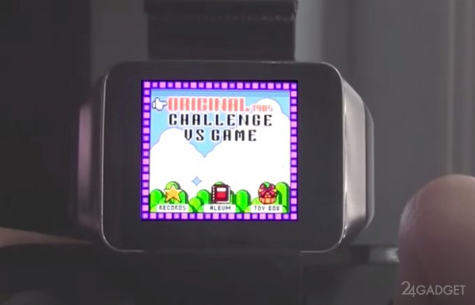 Игры от Gameboy Color запустили на Android Wear (видео)