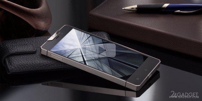 Regal - новый смартфон от Gresso в тонком титановом корпусе (фото)