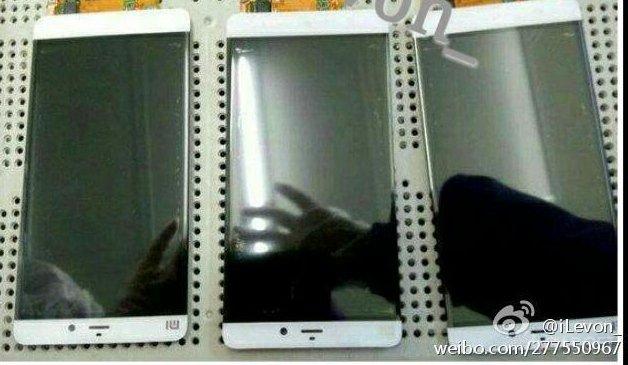 Первые фотографии безрамочного смартфона Xiaomi Mi 5