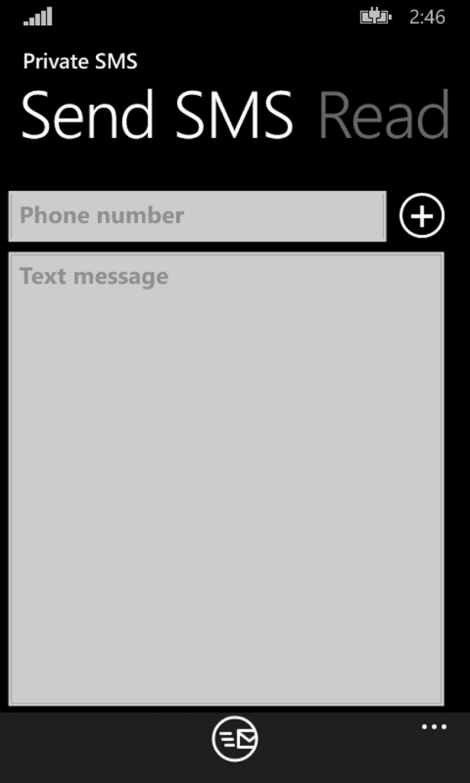 Private SMS 1.1.0.3 Шифрование SMS