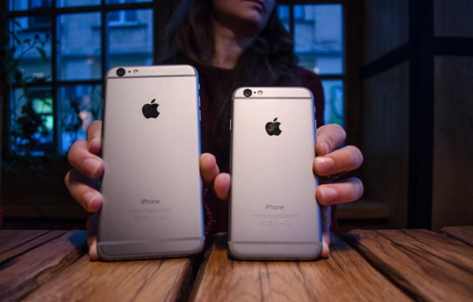Чем iPhone 6 лучше iPhone 6 Plus?