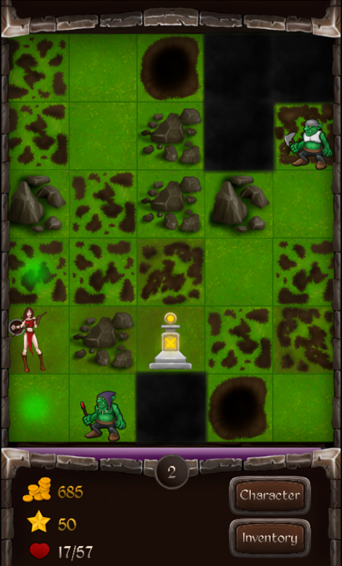 DA:Greenskin Invasion 1.1.2 Новая игра из серии Dungeon Adventure