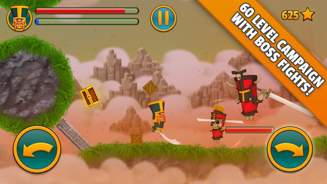 Cloud Knights 1.2 Рыцарские бои на арене,основанные на физике
