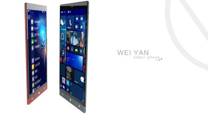 Wei Yan Sofia   смартфон с Android 5.0 и Windows Phone 10