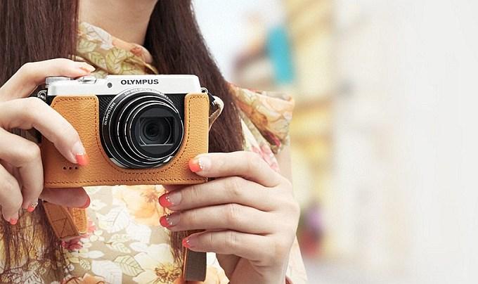 Анонсирована камера Olympus Stylus SH-2 в ретро дизайне (6 фото)