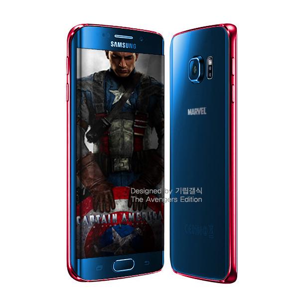 Samsung готовит Galaxy 6 в стиле героев-Мстителей (11 фото)