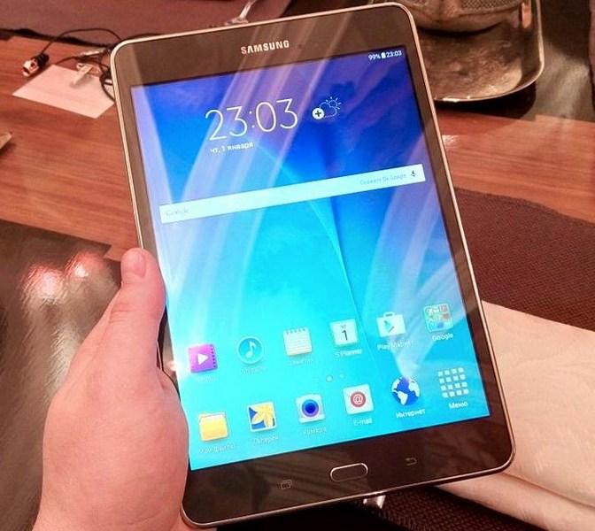 Анонсированы планшеты Samsung Galaxy Tab A (4 фото)