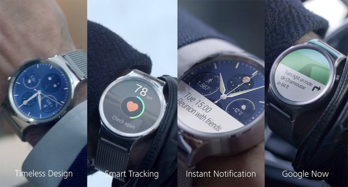 Смарт-часы Huawei Watch на Android Wear (7 фото)