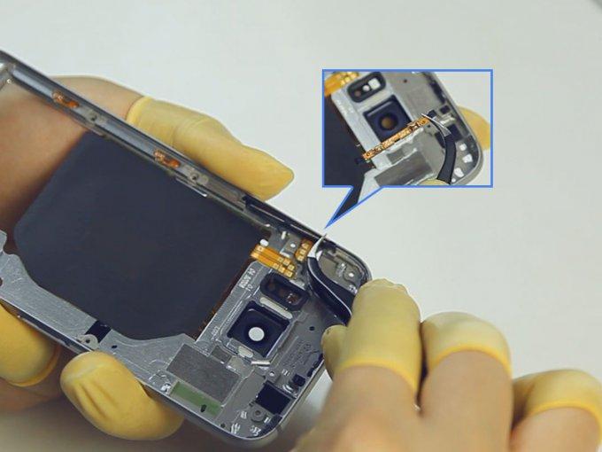 Специалисты iFixit разобрали Samsung Galaxy S6 (14 фото + видео)