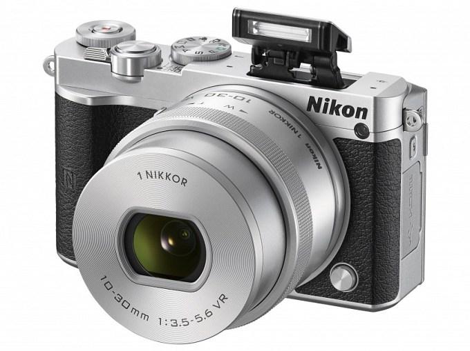 Nikon 1 J5 - беззеркальная фотокамера с возможностью видеозаписи 4K (5 фото)
