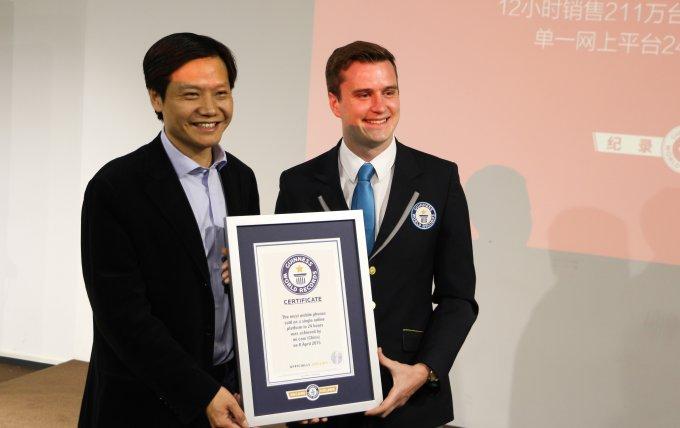 Компания Xiaomi попала в книгу рекордов Гиннеса (7 фото)