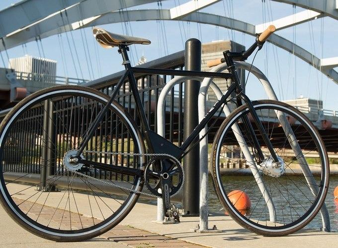 Электровелосипед с классическим дизайном (5 фото + видео)