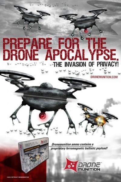 Випущені спеціальні патрони для захисту від непроханих дронів (5 фото)