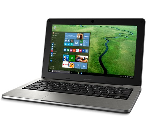 Medion Akoya S2218 — нетбук с Full HD-экраном и Windows 10 (3 фото)