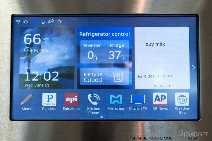 Холодильник Samsung відкриває хакерам доступ до Gmail користувача (5 фото)
